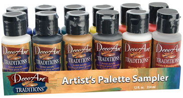 Traditions Artist's Palette Sampler